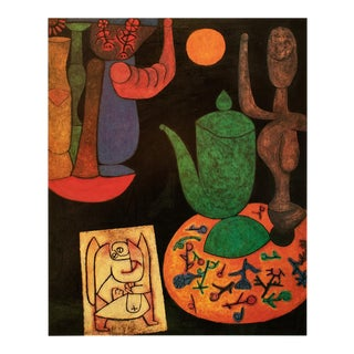 "1990 Paul Klee ""Still Life"", First German Edition Poster For Sale"
