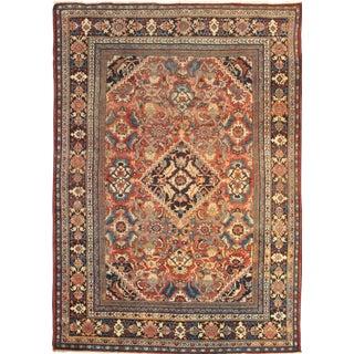 "Pasargad NY Antique Persian Mahal Lamb's Wool Rug - 8'7"" x 12'5"" For Sale"