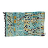 Image of Contemporary Berber Moroccan Rug - 5′ × 8′ For Sale