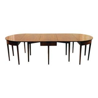 Vintage Walnut Dining Table For Sale