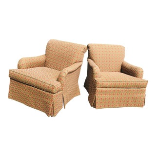 Hickory Furniture Club Chairs – a Pair For Sale