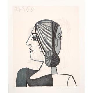 Pablo Picasso Lithograph - Tete For Sale