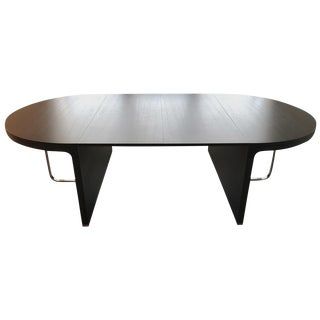 Ligne Roset Contemporary Oak Dining Table For Sale