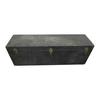 Vintage Narrow Black Trunk