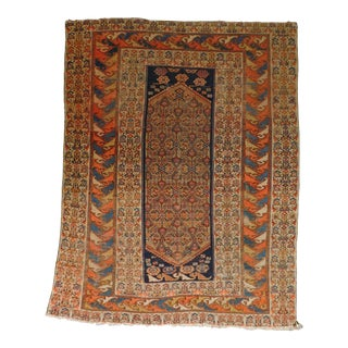 Antique Hand Woven Persian Malayer Rug For Sale