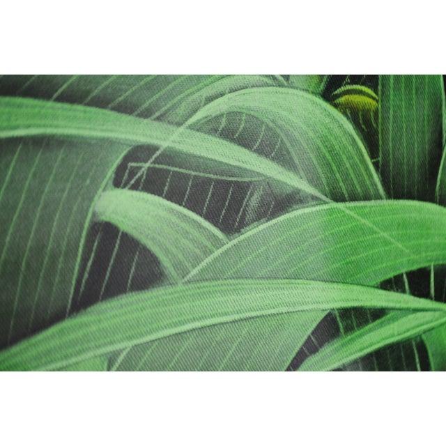 Large Art Deco Textile Art Painting Professionally Framed - Image 6 of 11