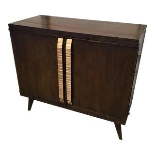 Hickory White Contemporary Bond Bar Cabinet For Sale