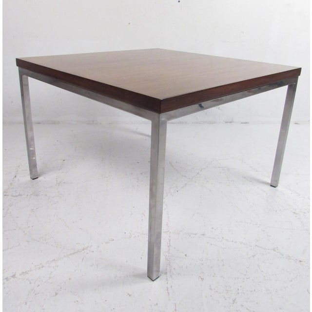 Milo Baughman Style Coffee Table For Sale - Image 12 of 12