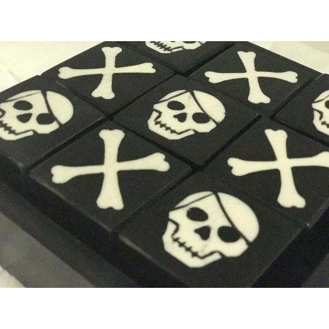 Skull & Bones Tic Tac Toe For Sale - Image 5 of 5