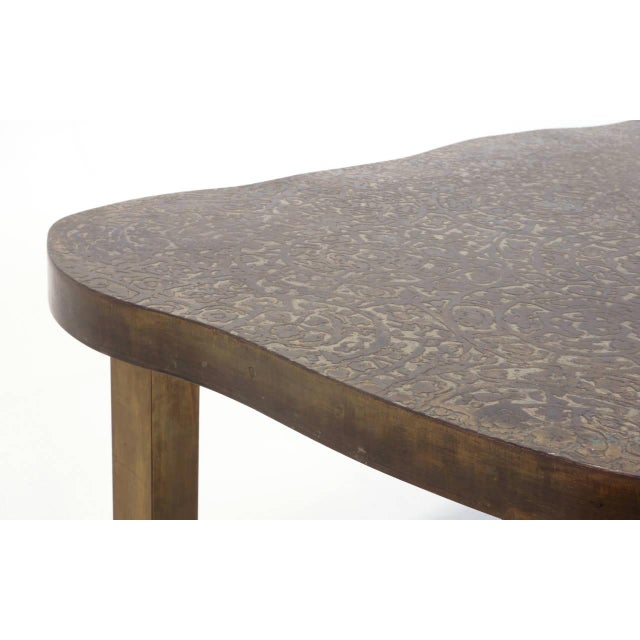Philip and Kelvin LaVerne Bronze Coffee Table by Philip and Kelvin LaVerne For Sale - Image 4 of 10