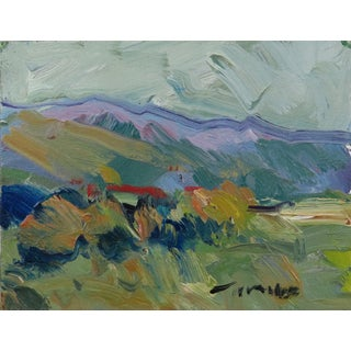 Contemporary Desert Landscape Oil Painting by Jose Trujillo For Sale