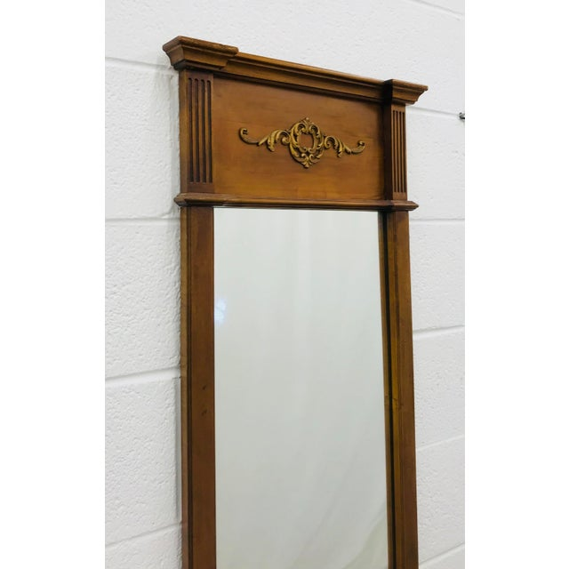 Vintage French Style Mirror For Sale - Image 4 of 7