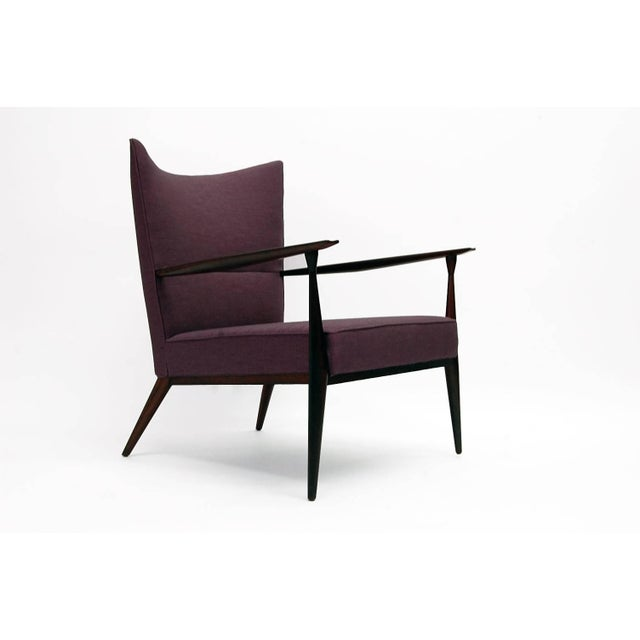 Mid-Century Modern 1950s Vintage Paul McCobb for Directional Fully Restored Lounge Chair For Sale - Image 3 of 8
