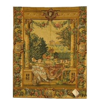 Vintage Traditional Woven Tapestry For Sale