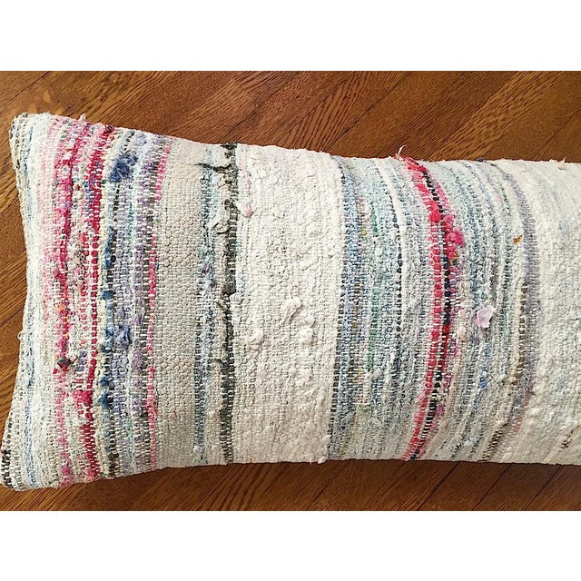 Moroccan Berber Striped Pillow Cover - Image 3 of 10
