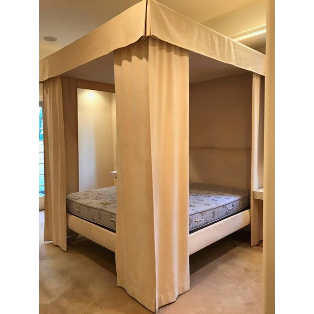 Incomparable Michael Taylor Canopy Bed - Image 3 of 9