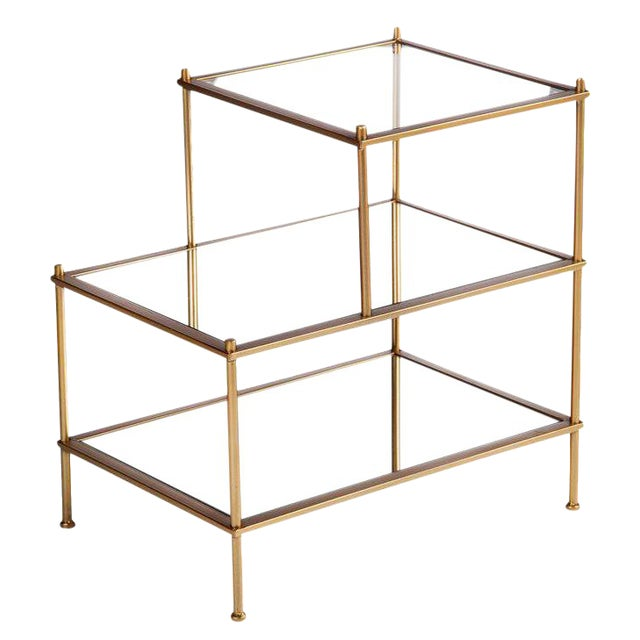 Jayden 3 Tiered Mirrored End Table - Image 1 of 2