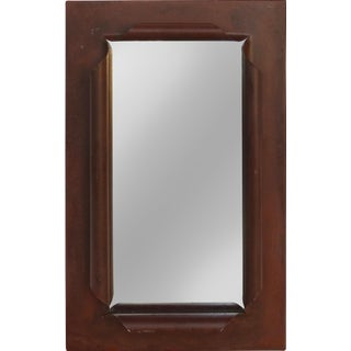 """""""Scrolled"""" Wrought Iron Mirror For Sale"""