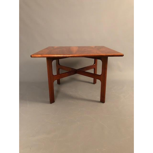 McGuire D.Mcguire Mid-Century Walnut Coffee Table For Sale - Image 4 of 8