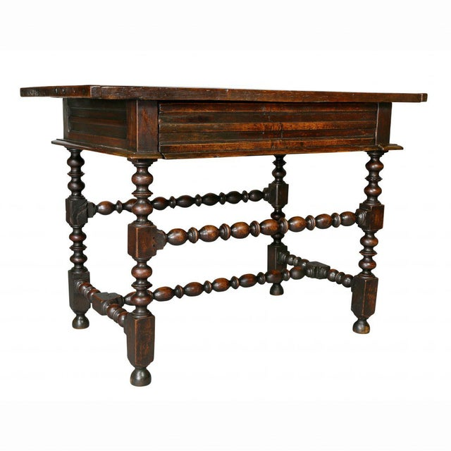 Charles II Oak Tavern Table For Sale - Image 12 of 12