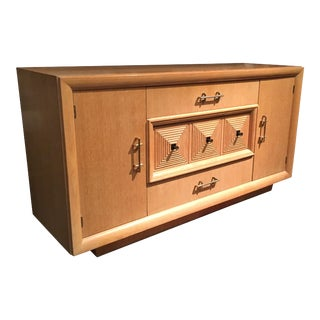 French Art Deco Credenza or Sideboard Attributed to Maxime Old For Sale