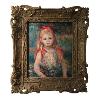 1980s Renoir Reproduction Painting For Sale