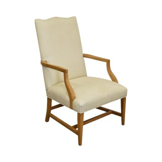 Ethan Allen Traditional High Back Arm Chair