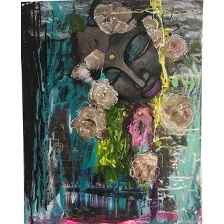 Abstract Expressionist Reiki Buddha Vickiwillisart For Sale