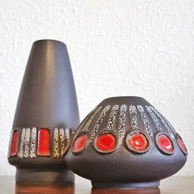 Ceramic Schlossberg 'Jewel' Decor Vase Nr. 243/20 (B) For Sale - Image 7 of 8