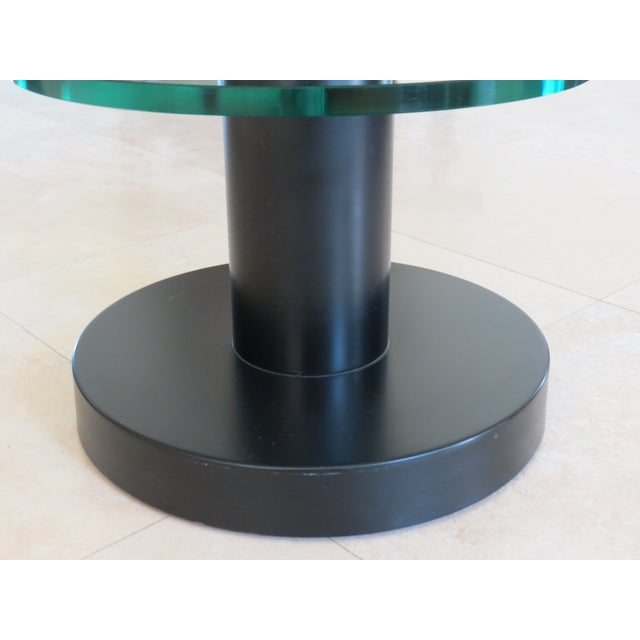 Fontana Arte Gio Ponti Design Round Side/End Table For Sale In Los Angeles - Image 6 of 10
