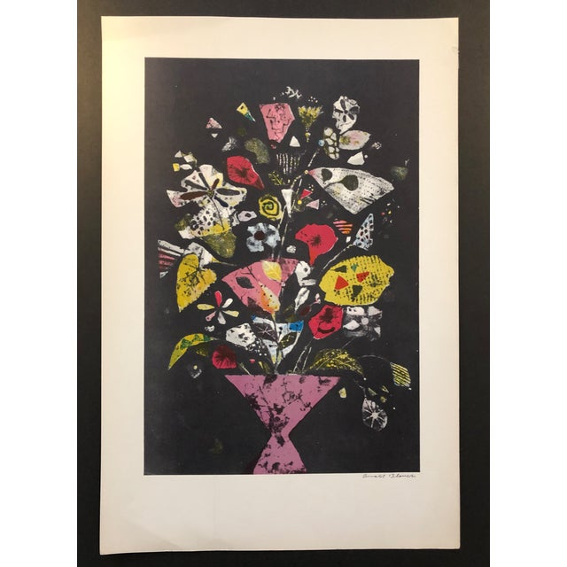 Mid-Century Modern 1960s Arnold Blanch Still Life Paintograph For Sale - Image 3 of 4