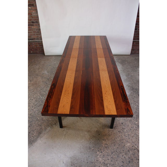 Directional Mixed-Wood Dining Table by Milo Baughman - Image 2 of 13