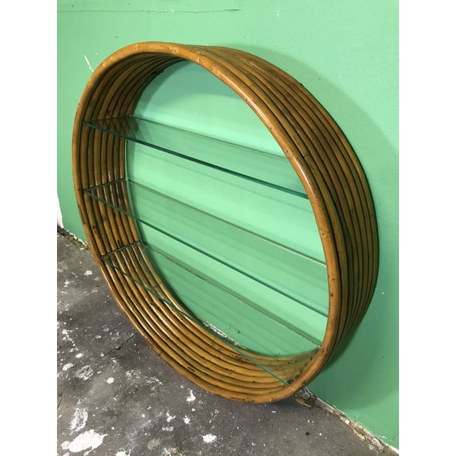 Vintage Mid-Century Paul Frankl Eight Strand Rattan Circular Wall Hanging For Sale - Image 12 of 12