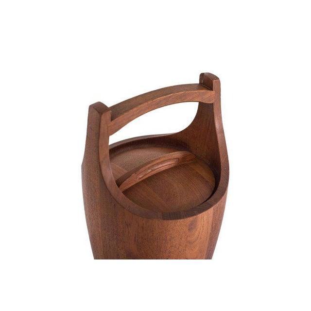 Jens Quistgaard Ice Bucket in Teak For Sale - Image 6 of 10