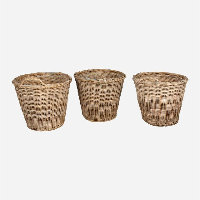 1940s Dutch Tulip Baskets - Set of 3 For Sale - Image 4 of 4