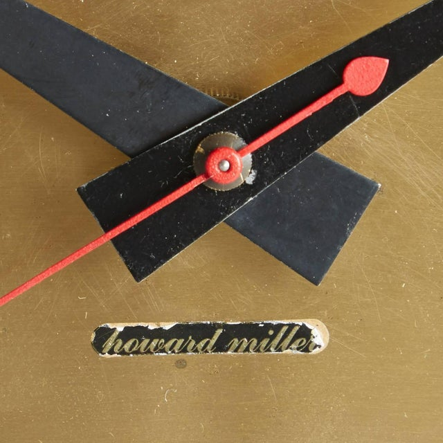 Asterisk Clock by George Nelson Circa 1953 - Image 5 of 5