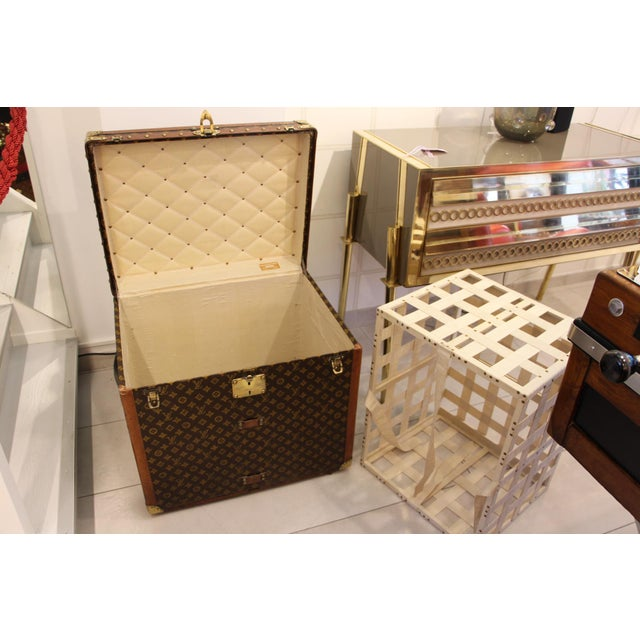 Louis Vuitton Monogram Steamer Trunk For Sale - Image 6 of 12