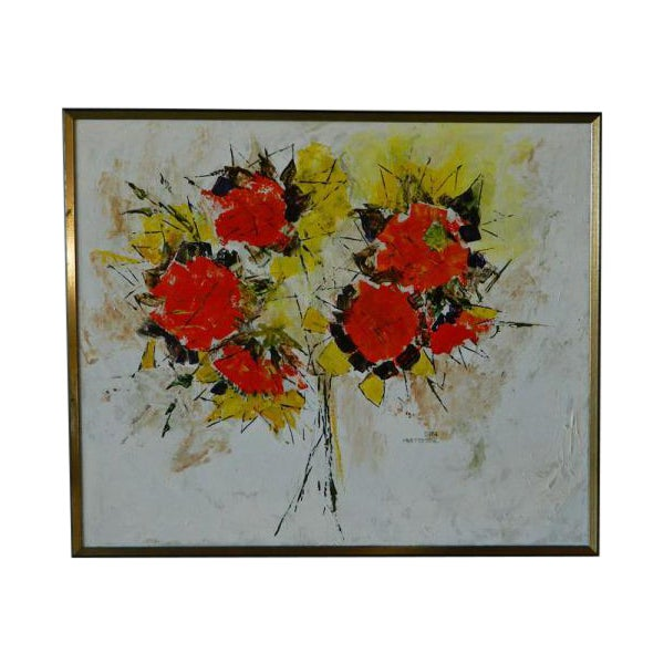 Sara Masterson Flowers Painting - Image 1 of 3