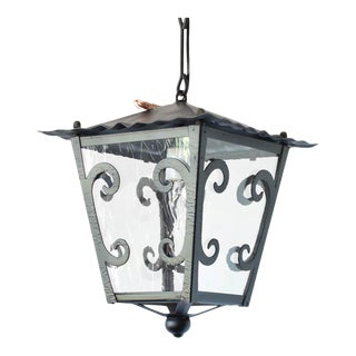 Mid 20th Century Spanish Iron Lanterns - 4 Available For Sale