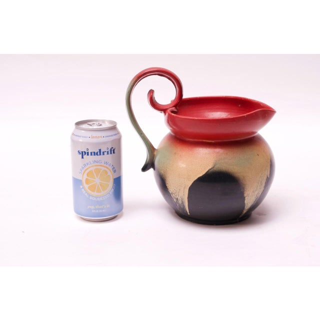 Mid-Century Dutch Hand-Painted Ceramic Decorative Pitcher For Sale In New York - Image 6 of 13