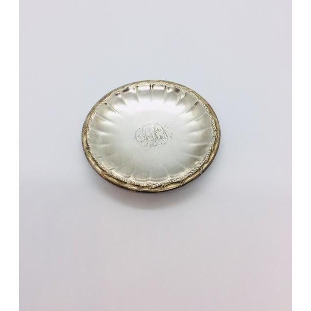 Art Nouveau Late 19th Century Gorham Sterling Butter Pats Coasters- Set of 12 For Sale - Image 3 of 11