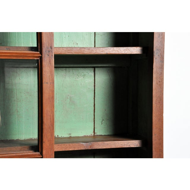 1950s British Colonial Bookcase For Sale - Image 10 of 13