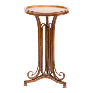 Antique Art Nouveau Thonet Bentwood Table For Sale