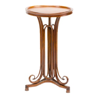 Art Nouveau Thonet Bentwood Table For Sale