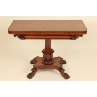 19th Century William IV Mahogany Games Table Preview