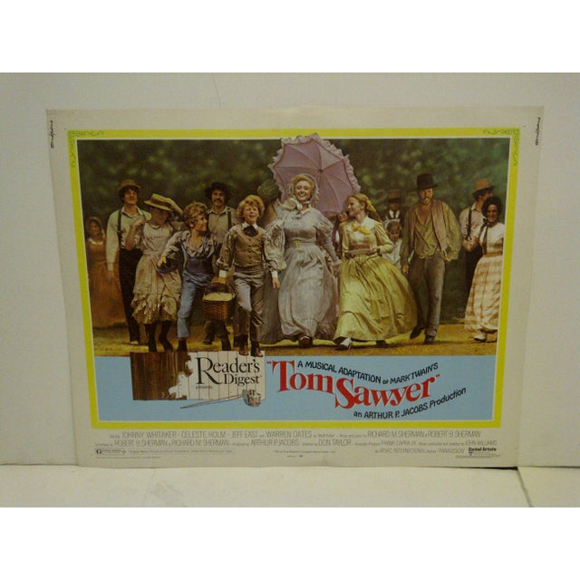 "A Vintage Movie Poster -- Reader's Digest Presents -- A Musical Adaptation Of Mark Twains -- ""Tom Sawyer"" -- 73/76 --..."