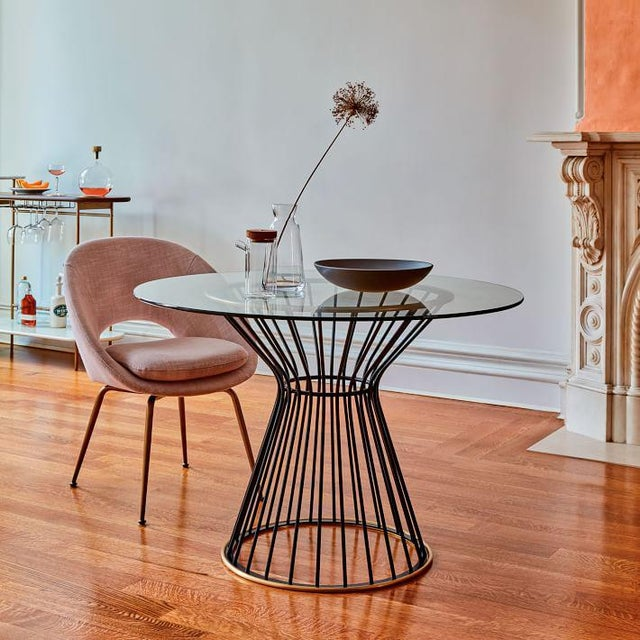 West Elm Hourglass 42 Round Dining Table