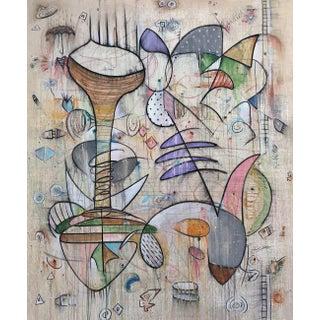 "Bruce Rubenstein ""Jameel's Space Ride"" Original Painting For Sale"