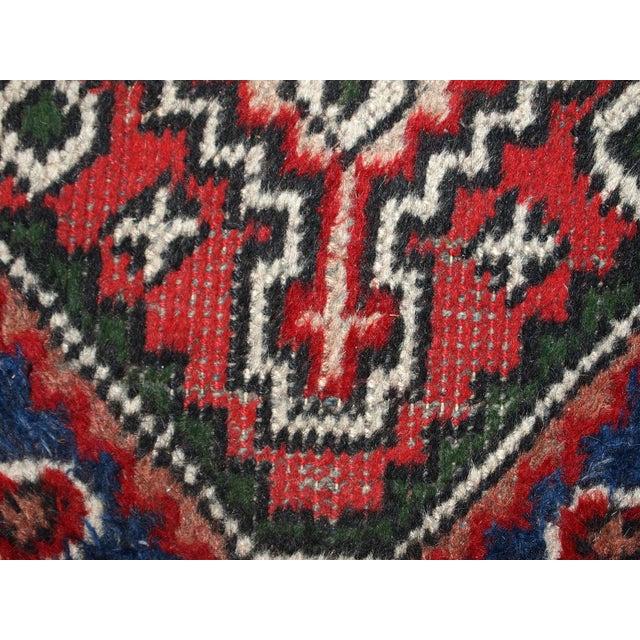 1970s, Handmade Vintage Persian Hamadan Rug 1.3' X 1.9' For Sale In New York - Image 6 of 10