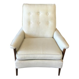 Mid Century Modern Kroehler High Back Arm Chair